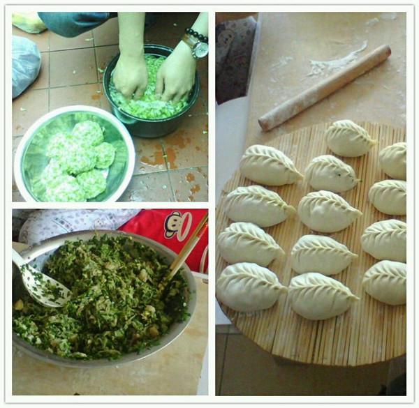 槐花饺子的做法