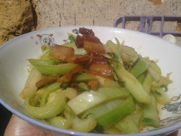 生炒水东芥菜的做法