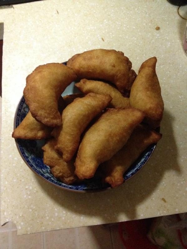 """汉味早点之""""鸡冠饺""""的做法"""