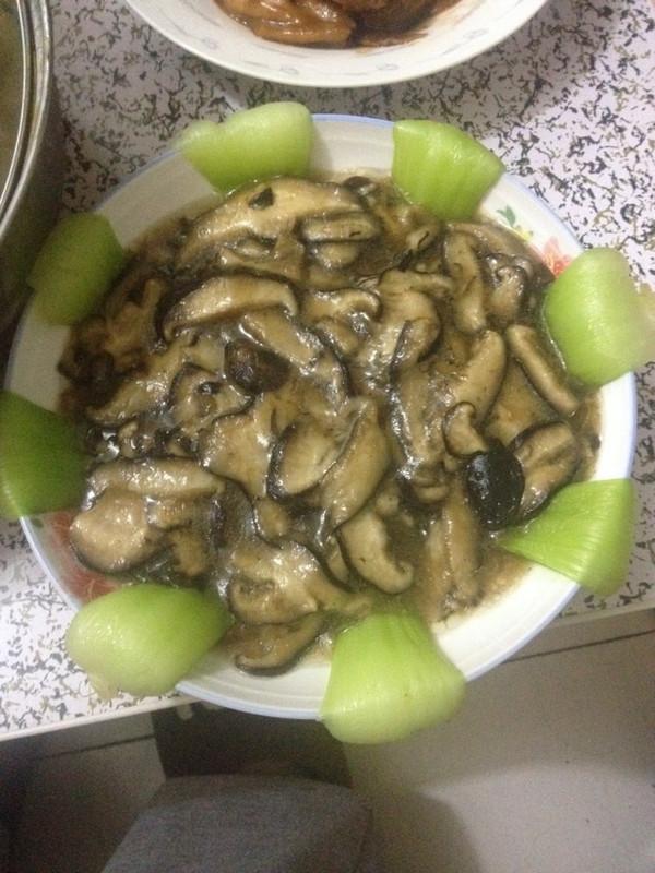 小清新【蚝油香菇油菜】的做法
