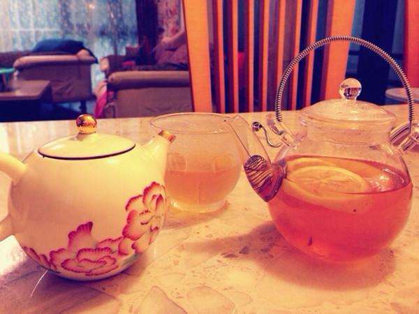 热柠檬茶的做法