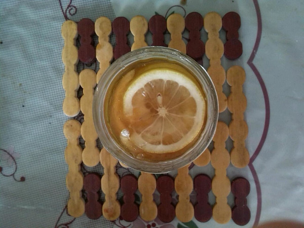 蜜渍柠檬的做法