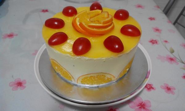 香橙慕斯蛋糕的做法