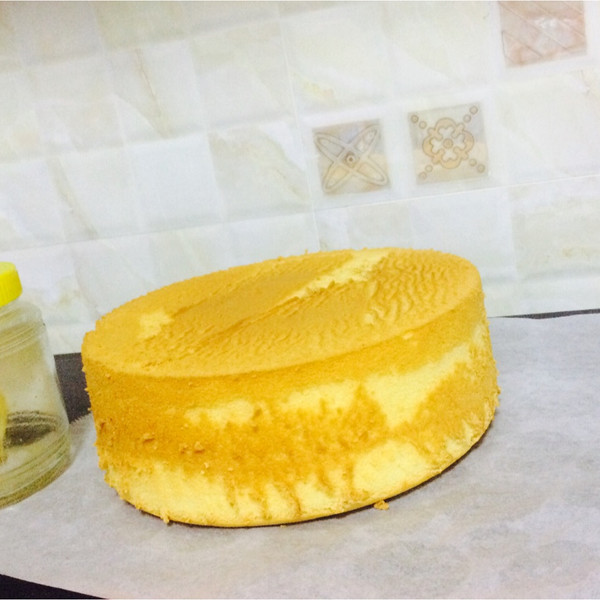 超软烫面戚风蛋糕的做法