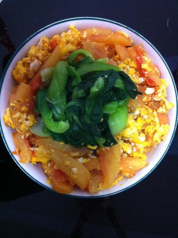 吃的就是这份简单——番茄鸡蛋面的做法