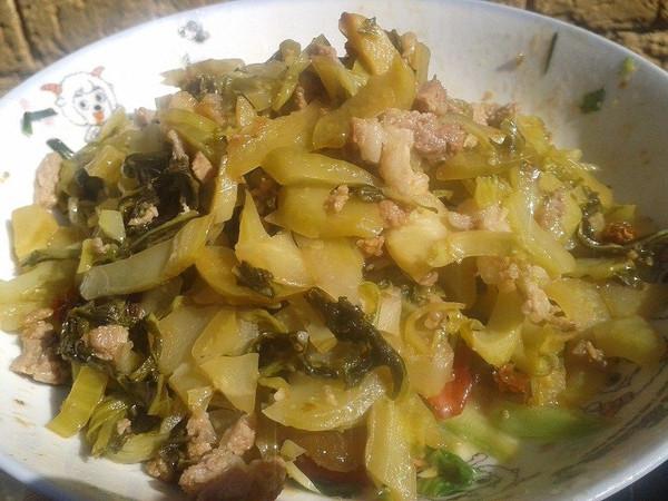 家庭版腌芥菜的做法
