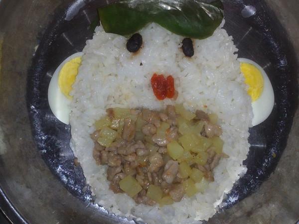 早餐-大嘴巴饭的做法