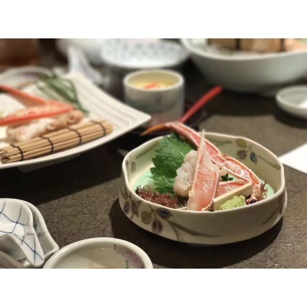 螃蟹刺身#天天秀美食#的做法