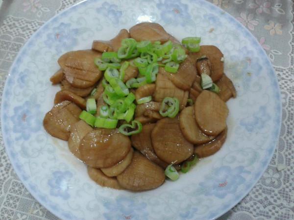 烧汁杏孢菇的做法
