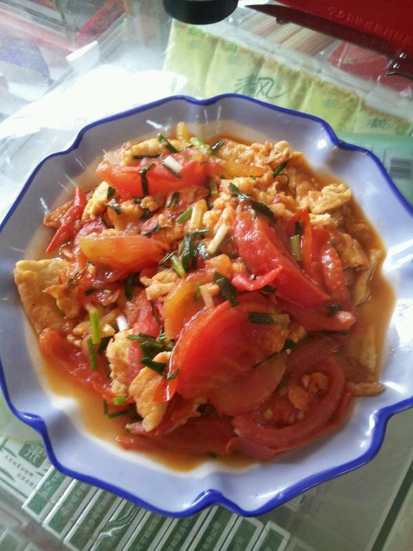 最爱家常菜--番茄炒鸡蛋的做法
