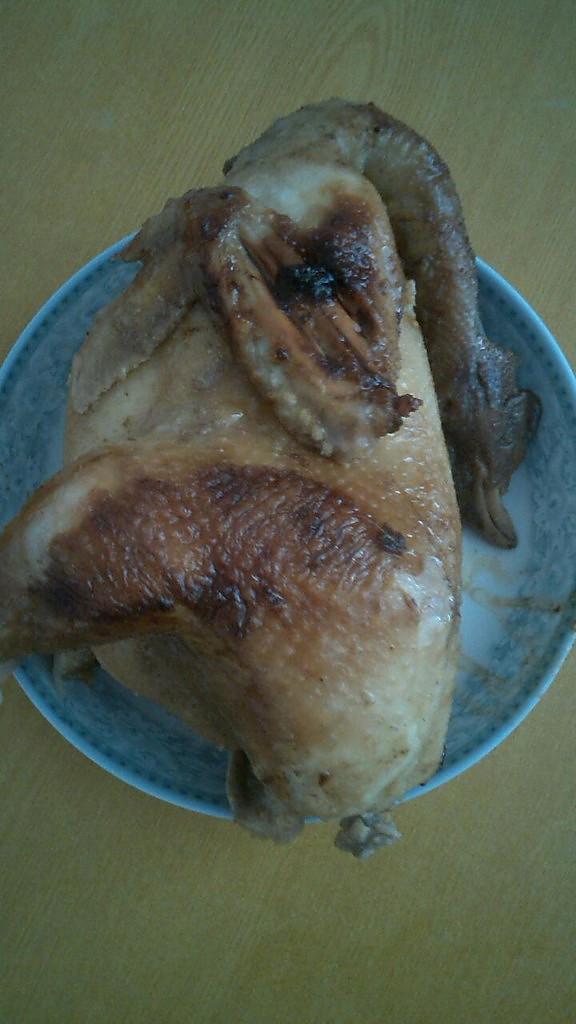盐焗鸡——电饭煲的做法