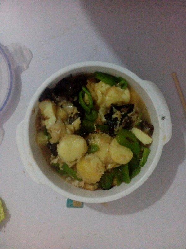 家常玉子豆腐的做法