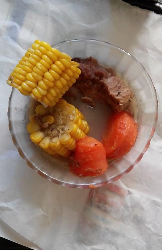 【❤汤】胡萝卜玉米排骨汤的做法