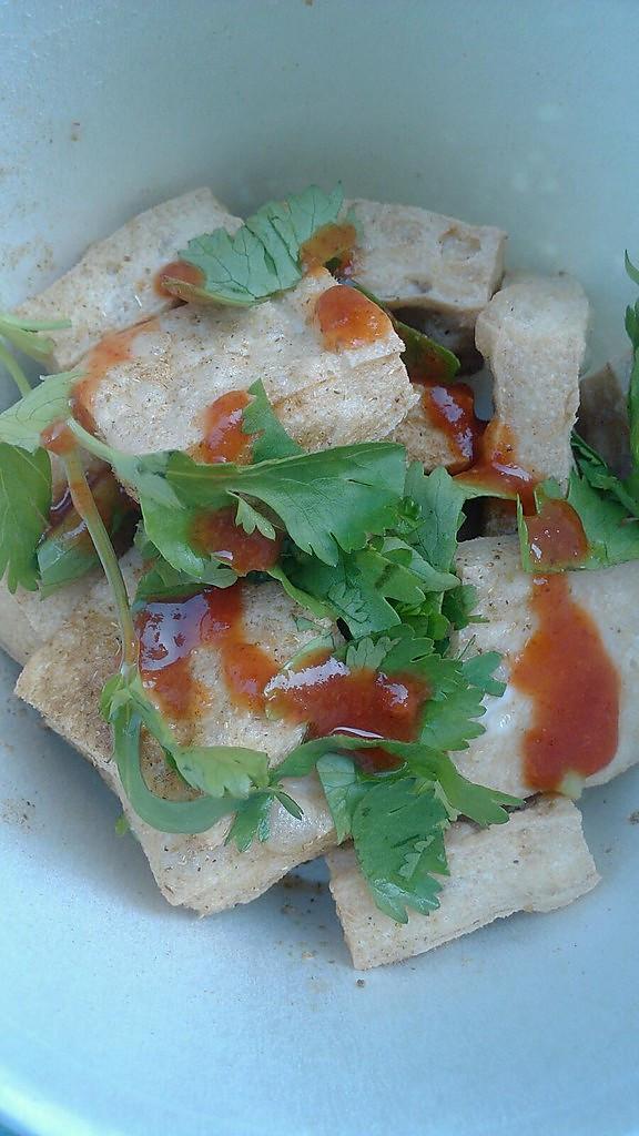 椒盐臭豆腐的做法