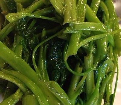 蒜蓉炒空心菜的做法
