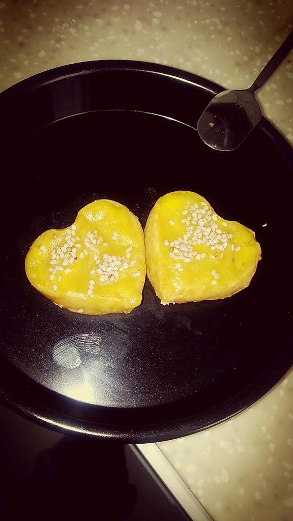 甜美红薯饼的做法