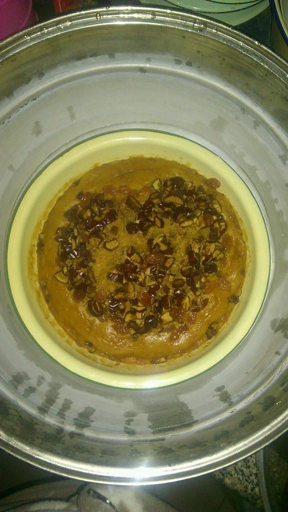 杂粮葡萄干红糖发糕的做法