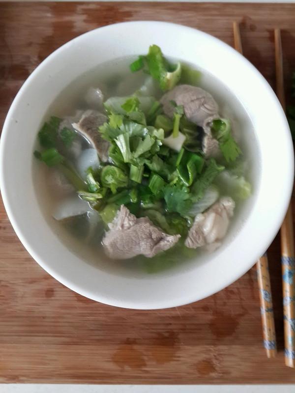 清炖羊肉汤的做法