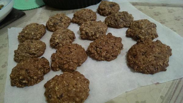 巧克力燕麦饼干的做法