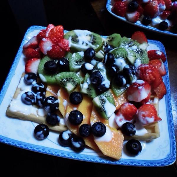 帮小孩子开胃的水果沙拉——酸奶水果沙拉的做法