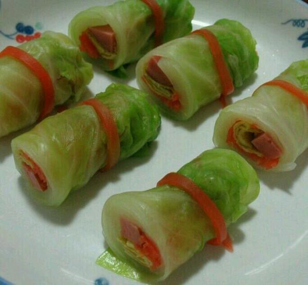 蔬菜卷的做法