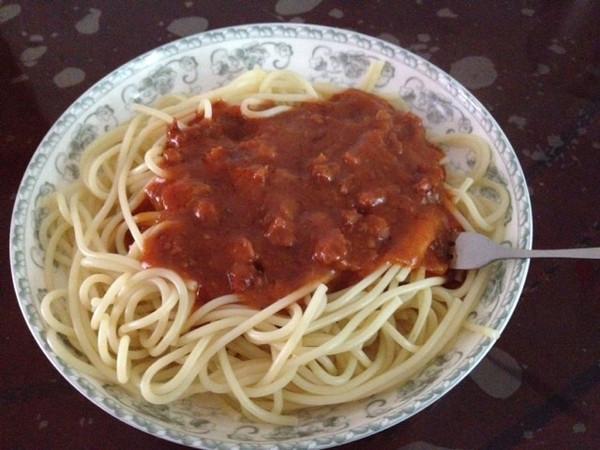 家常番茄肉酱意面的做法