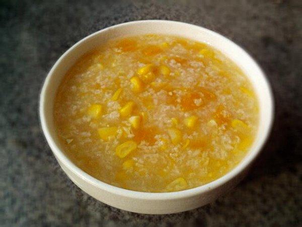 玉米南瓜粥的做法