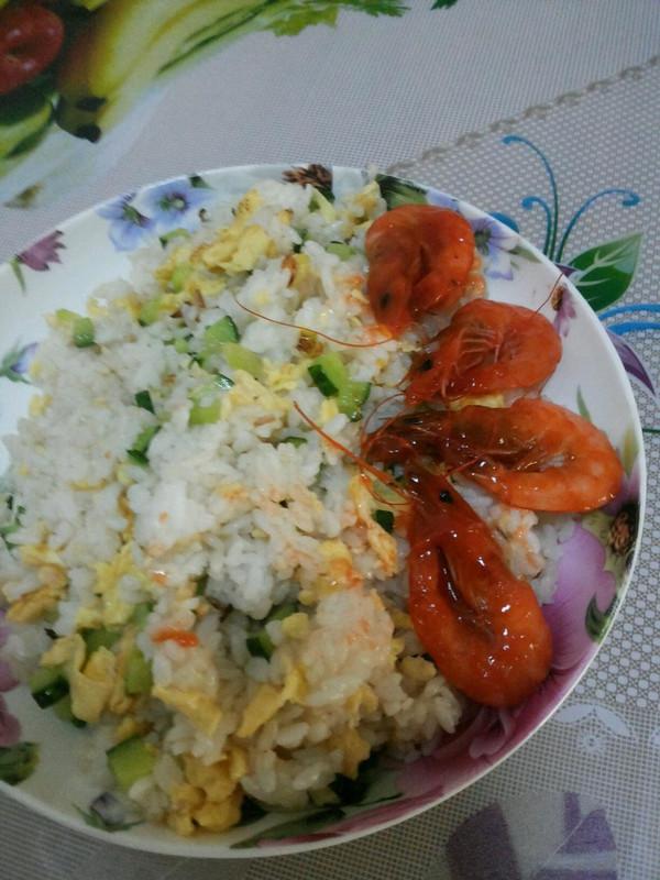 土豆腊味炒米饭的做法