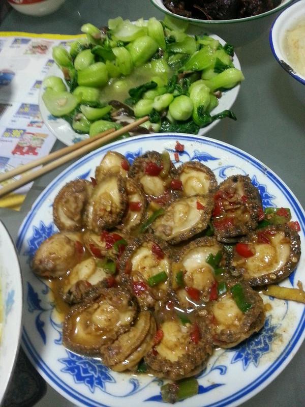 豆豉小鲍鱼的做法