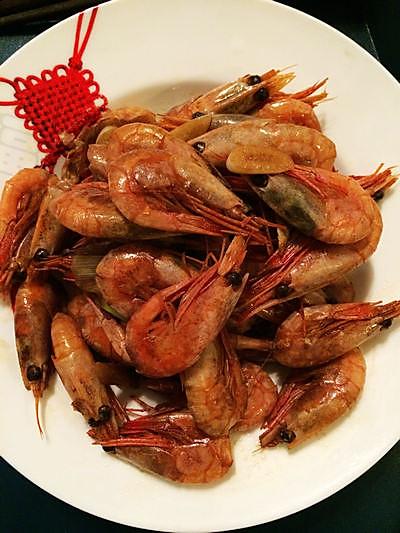 红烧北极虾的做法
