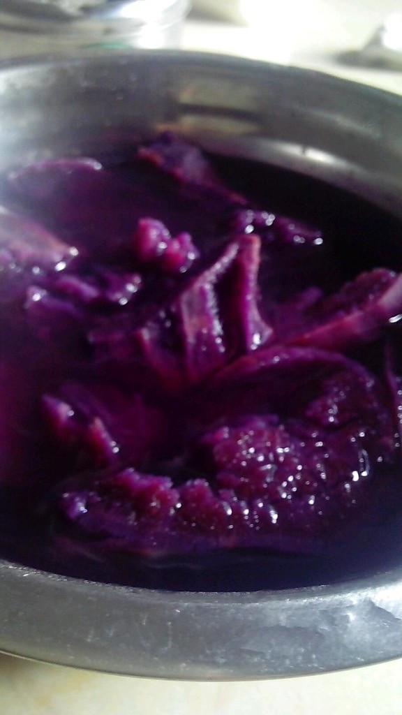 紫薯糖水的做法
