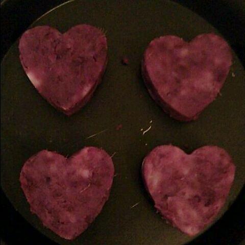 蜂蜜紫薯山药泥的做法