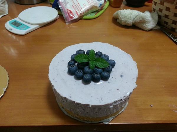 蓝莓慕斯的做法