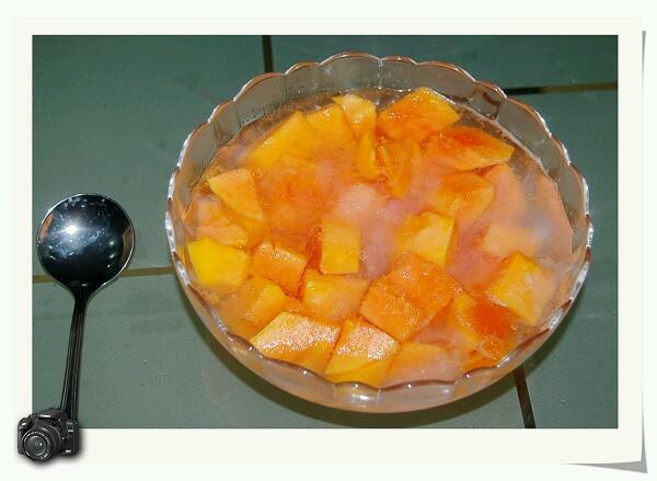 木瓜炖燕窝的做法