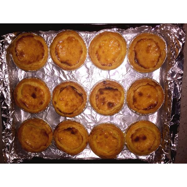 在家轻松做蛋挞的做法