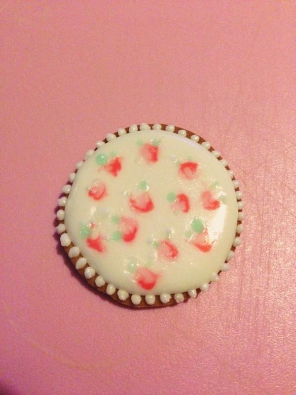 【碎花糖霜饼干】小清新田园风的做法