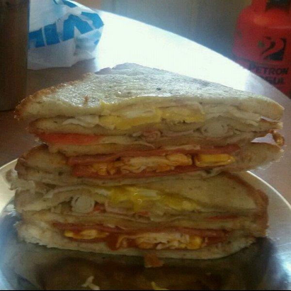 早餐三文治的做法