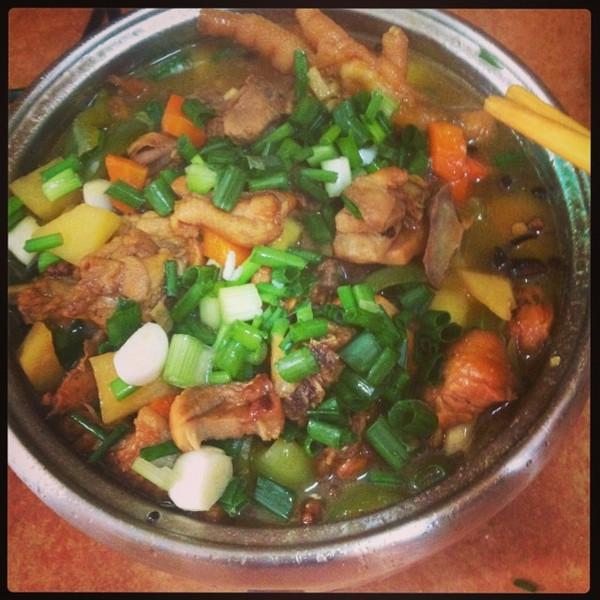 新疆大盘鸡的做法