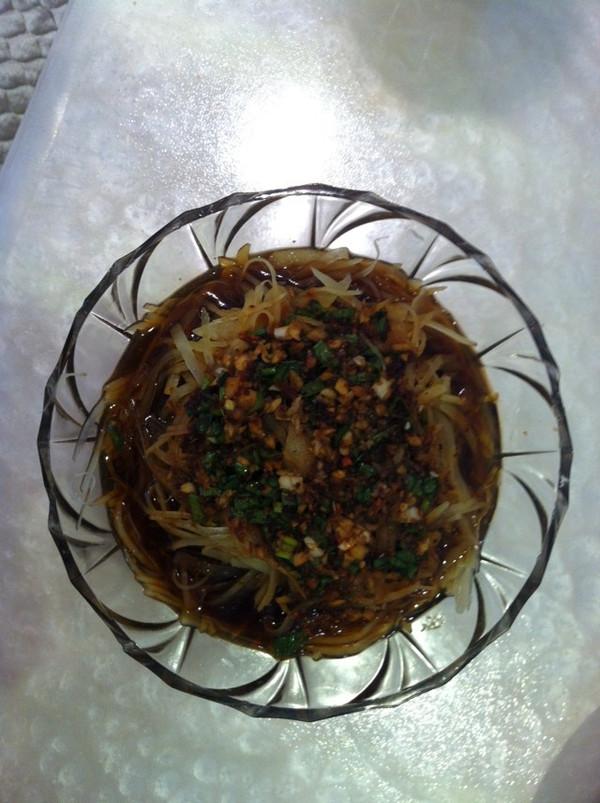 酸辣土豆丝(凉拌)的做法