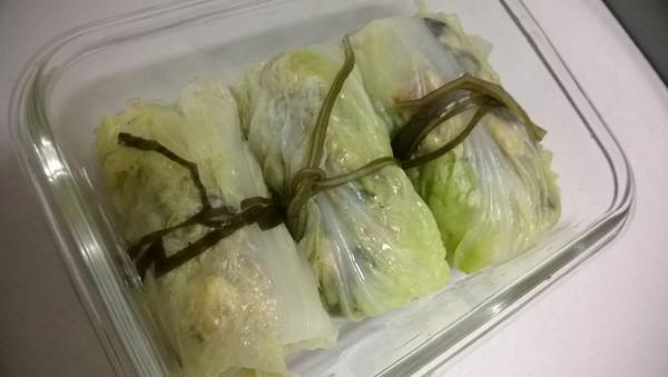 酱烧白菜包的做法