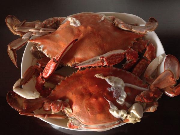 果泥清蒸蟹的做法