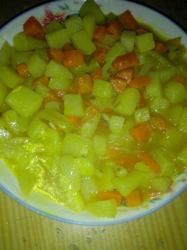 咖喱土豆盖饭的做法