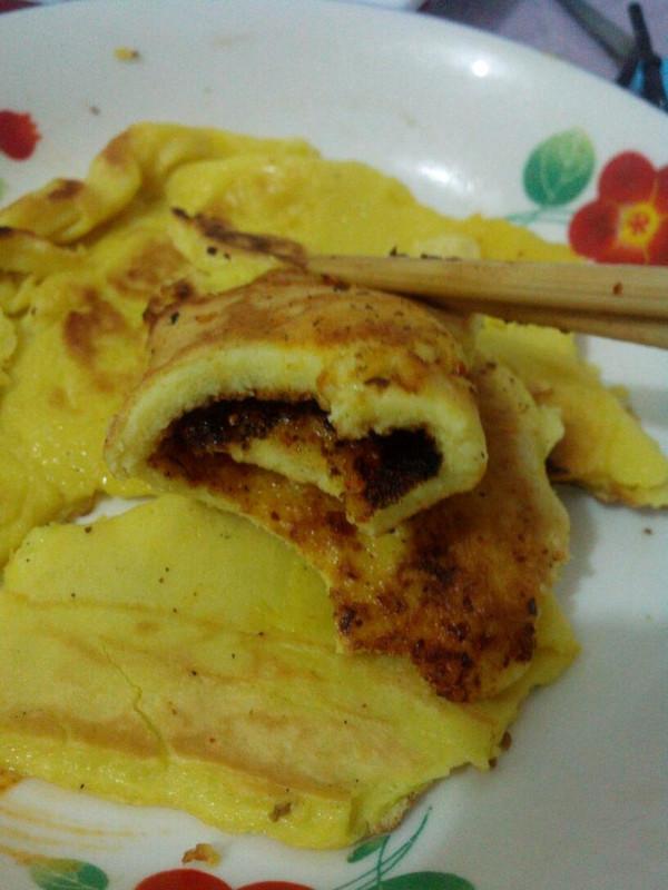 苹果蛋饼的做法