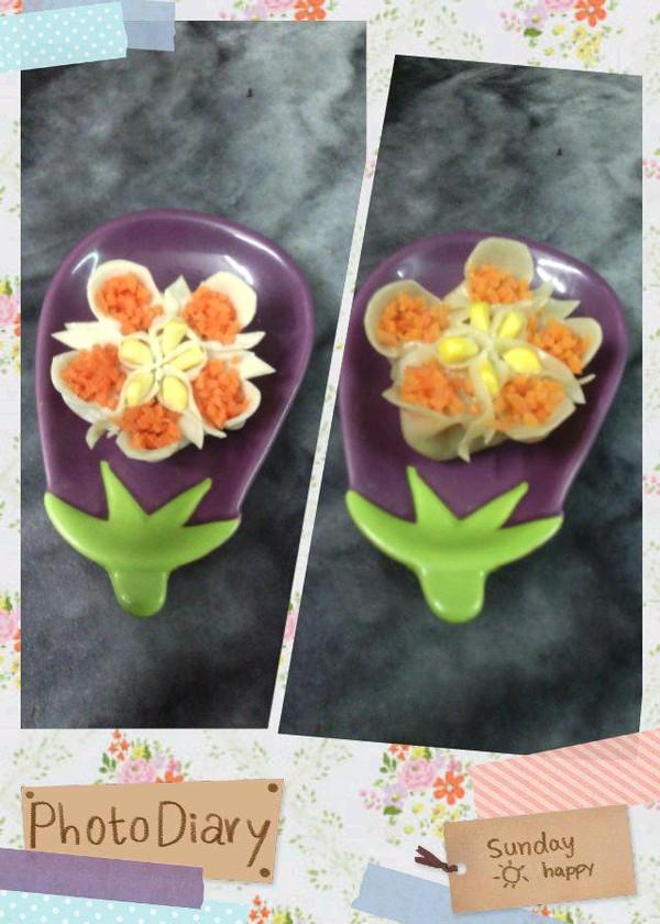 花式蒸饺—吉祥三宝的做法