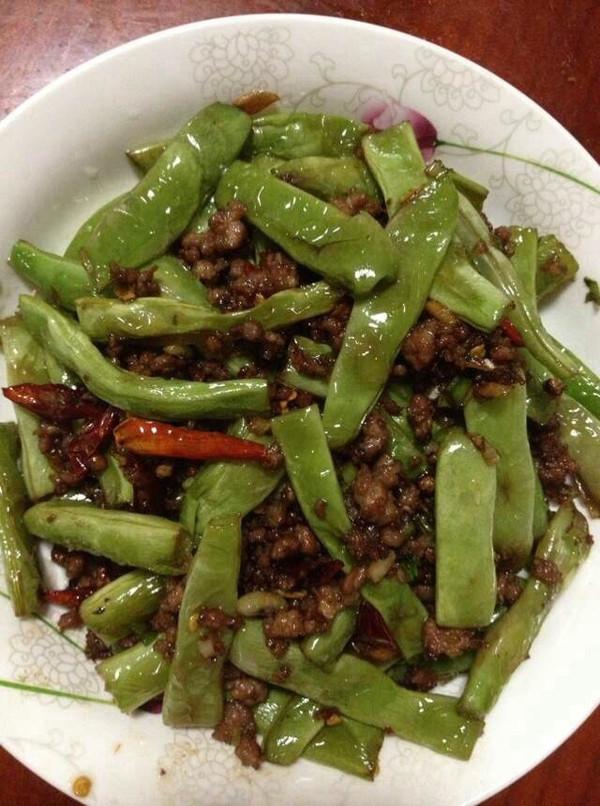 微辣干煸芸豆的做法