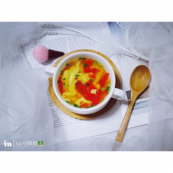 家常番茄蛋花汤的做法