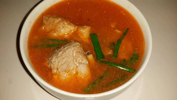 番茄排骨汤的做法