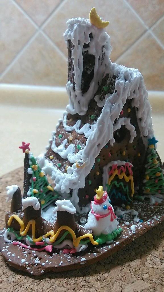 2011圣诞季---送你的姜饼屋的做法