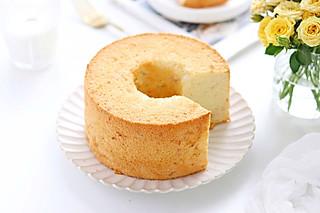 叨叨姐姐的香蕉戚风蛋糕