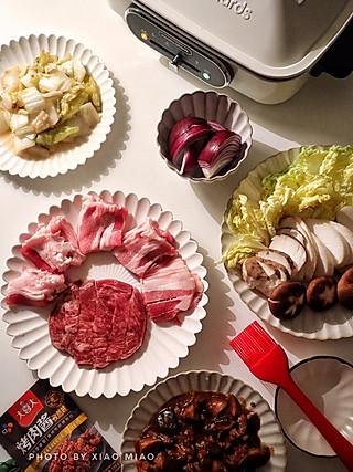 流浪的喵喵小姐的✨get这几个烤肉餐的小技巧,在家也能吃大餐~